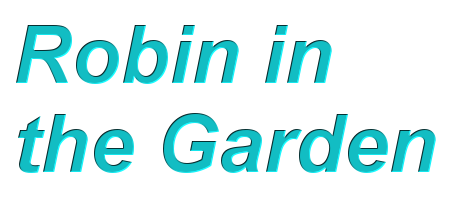 Robin In The Garden Logo
